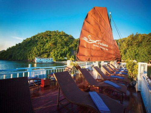 swan-cruises-halong-bay-cruise-Sundeck-4