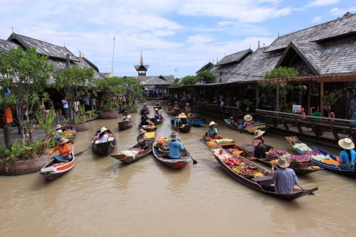 CHỢ NỔI BỐN MIỀN- Floating Market 1