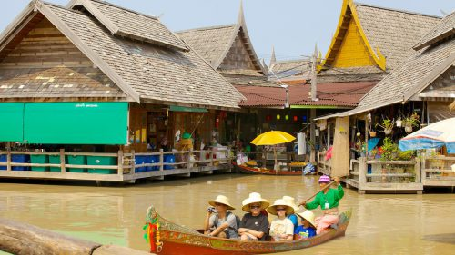 CHỢ NỔI BỐN MIỀN- Floating Market 2