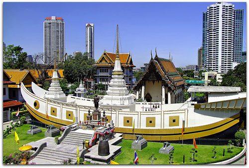 Chùa Thuyền Wat Yanawa 2