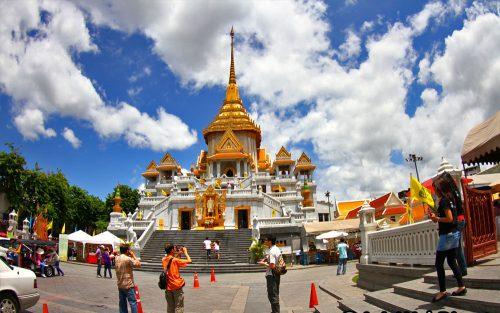 Chùa Thuyền Wat Yanawa 3