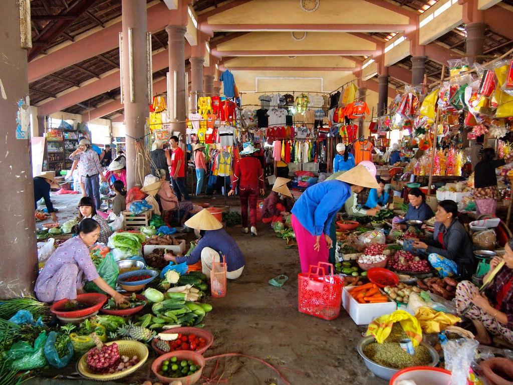 Vietnam rural market - Vietnam discovery Travel