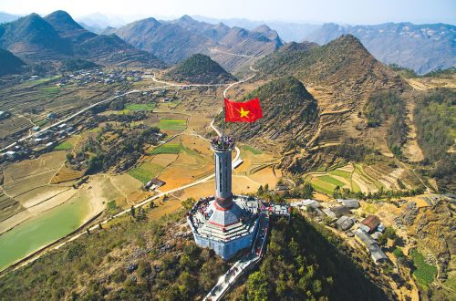 Lung Cu flag pole – Northernmost point of Vietnam